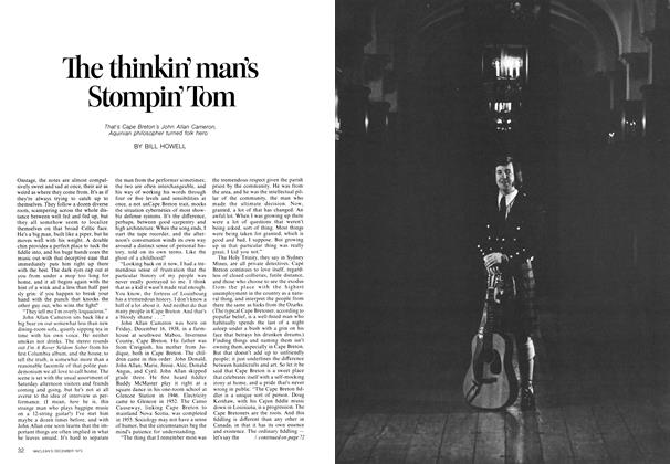 The thinkin' man's Stompin' Tom