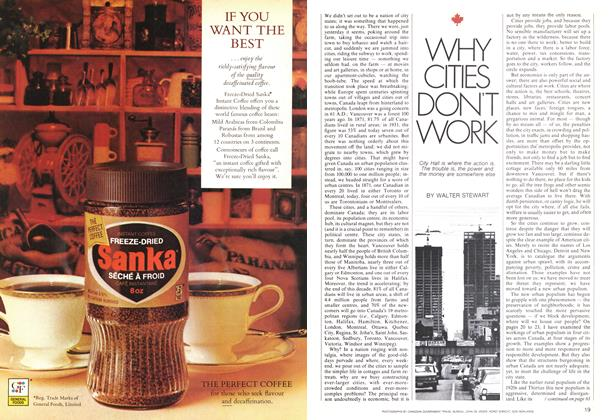 WHY CITIES DON'T WORK