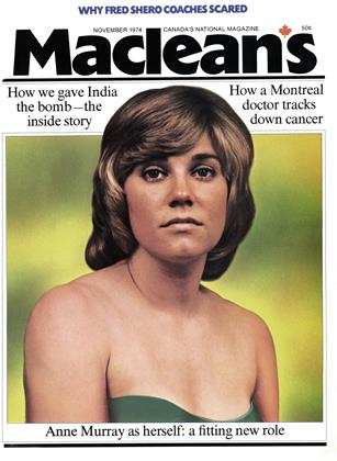 Cover for the November 1 1974 issue