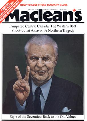 Cover for the January 1 1975 issue
