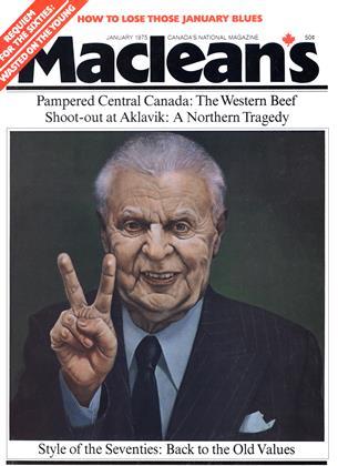 JANUARY 1975 | Maclean's