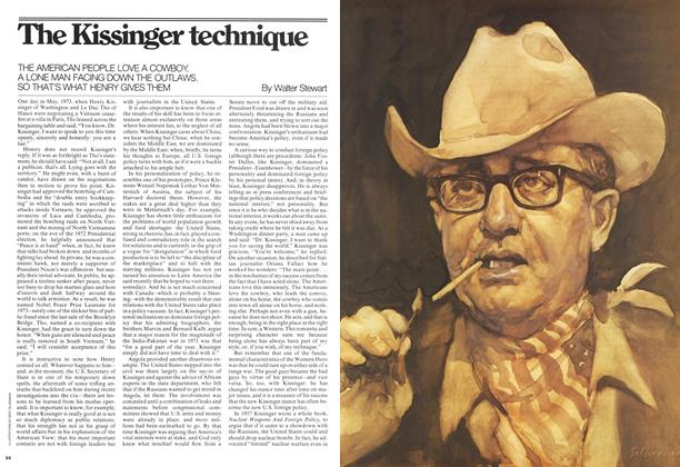 The Kissinger technique