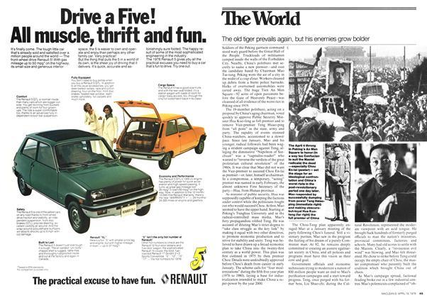 Agreat leap forward | Maclean's | APRIL 19, 1976