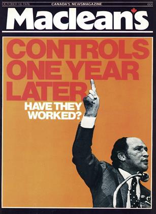 OCTOBER 18, 1976 | Maclean's