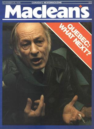 NOVEMBER 29, 1976 | Maclean's