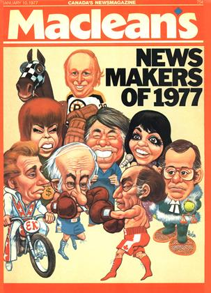 Cover for the January 10 1977 issue