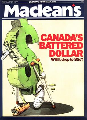 Cover for the February 21 1977 issue