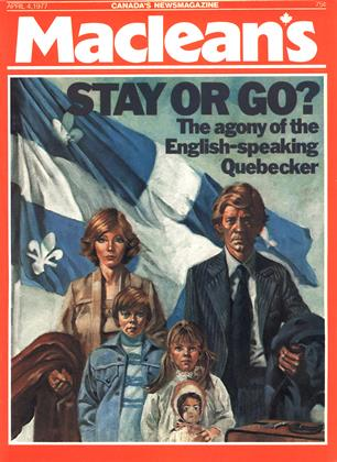 Cover for the April 4 1977 issue