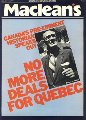 JUNE 27, 1977 | Maclean's