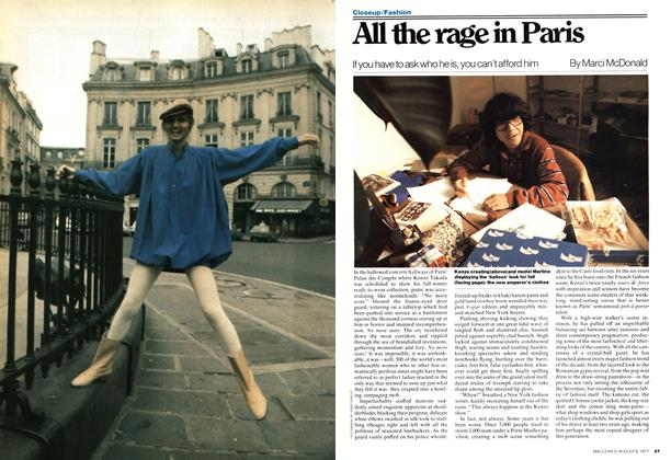All the rage in Paris