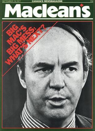 SEPTEMBER 19, 1977 | Maclean's
