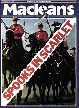 Cover for the November 14 1977 issue