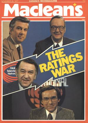 Cover for the November 28 1977 issue