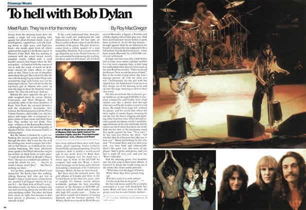 To hell with Bob Dylan