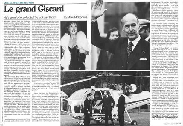 Le grand Giscard
