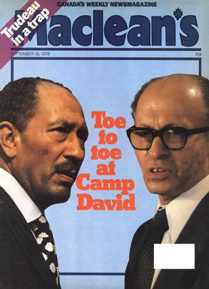 SEPTEMBER 18, 1978 | Maclean's