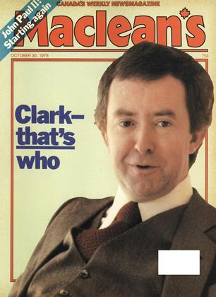 Cover for the October 30 1978 issue