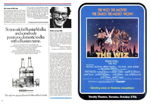 Advertisement, Page: T3 - OCTOBER 30, 1978 | Maclean's