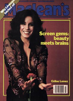 Cover for the November 13 1978 issue
