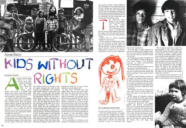 KIDS WITHOUT RIGHTS