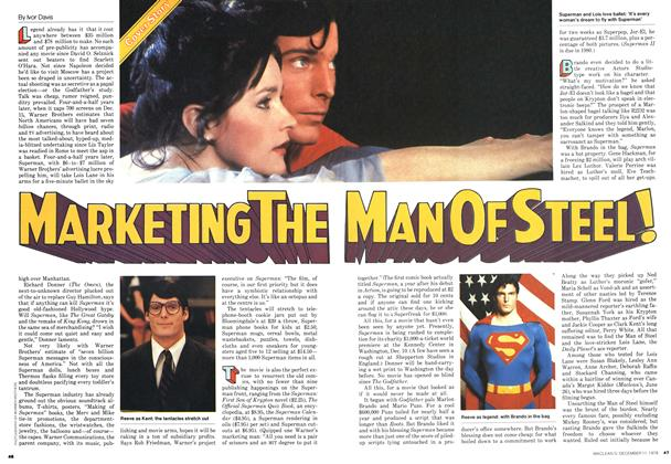 MARKETING THE MAN OF STEEL!