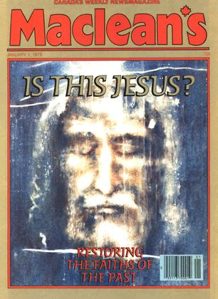 Cover for the January 1 1979 issue