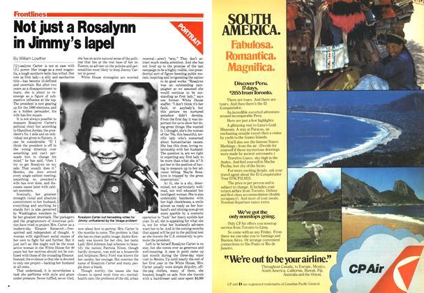 Not just a Rosalynn in Jimmy's lapel