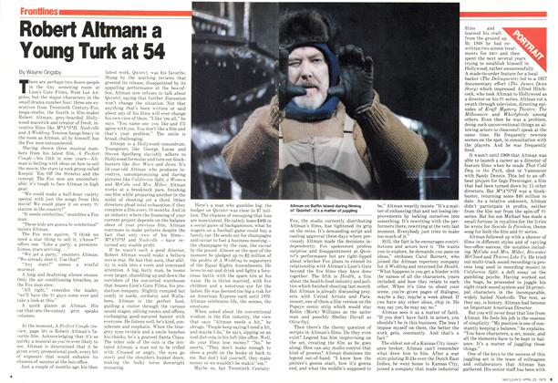 Robert Altman: a Young Turk at 54