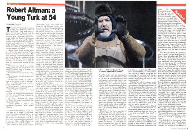 Robert Altman: a Young Turk at 54