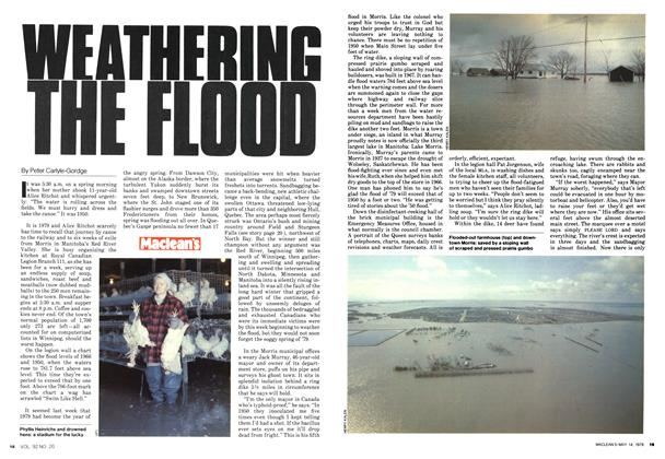 WEATHERING THE FLOOD