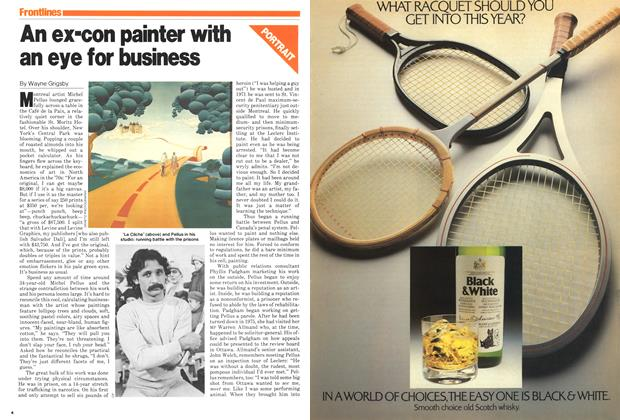 An ex-con painter with an eye for business
