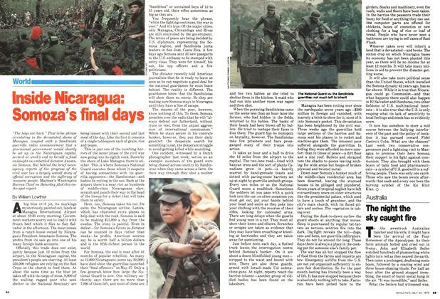 Inside Nicaragua: Somoza's final days
