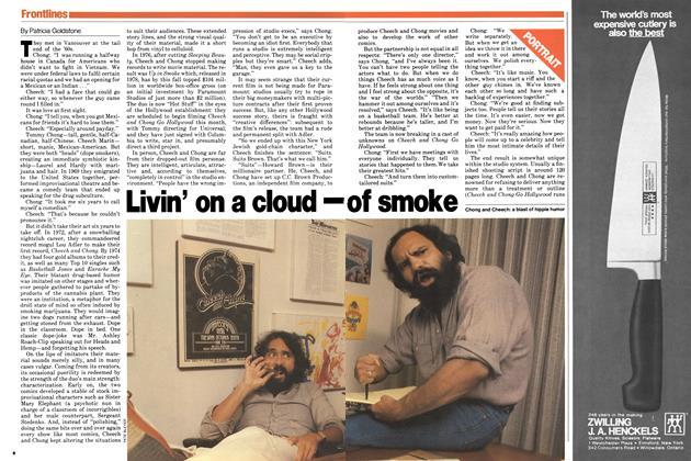 Livin' on a cloud— of smoke