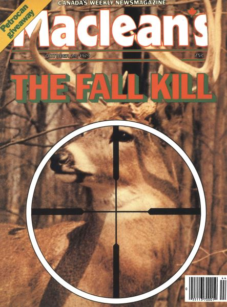 Issue: - October 1979   Maclean's