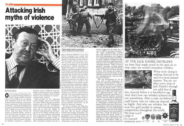 Attacking Irish myths of violence