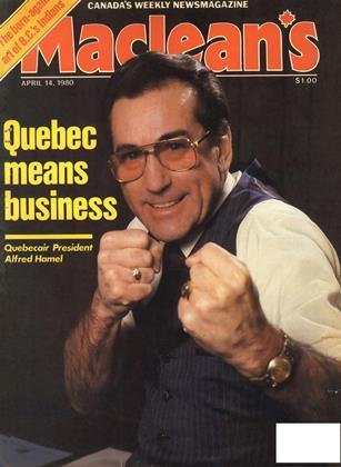APRIL 14, 1980 | Maclean's