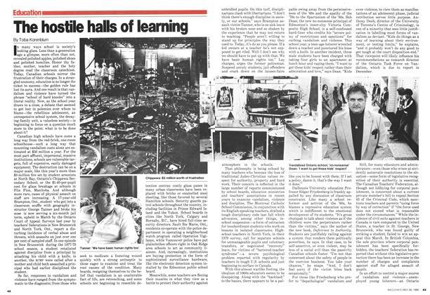 The hostile halls of learning