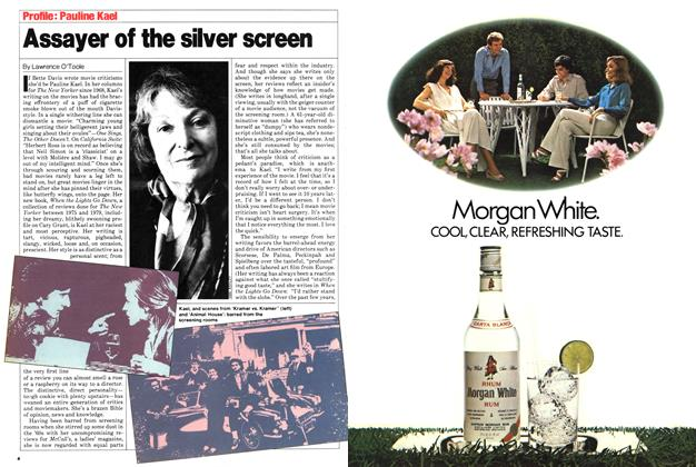 Assayer of the silver screen