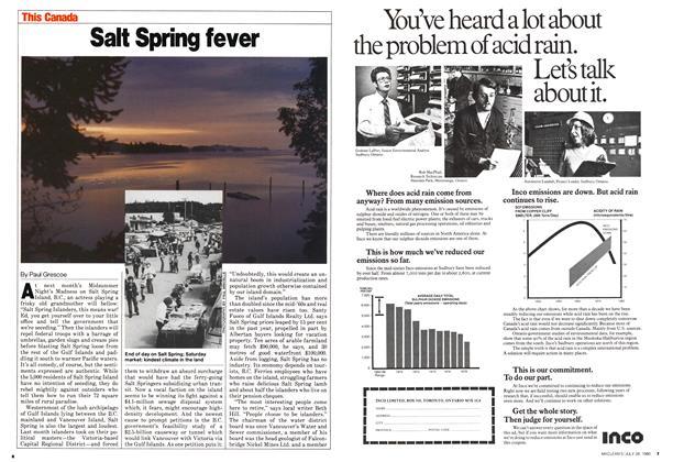 Salt Spring fever