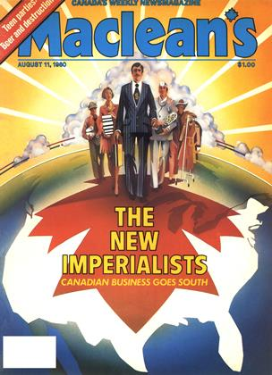 Cover for the August 11 1980 issue