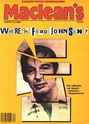 AUGUST 25, 1980 | Maclean's