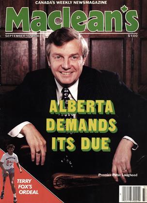 SEPTEMBER 15, 1980 | Maclean's