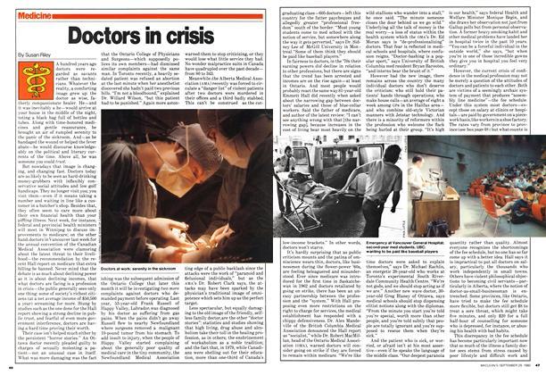 Doctors in crisis