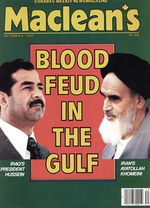Cover for the October 6 1980 issue