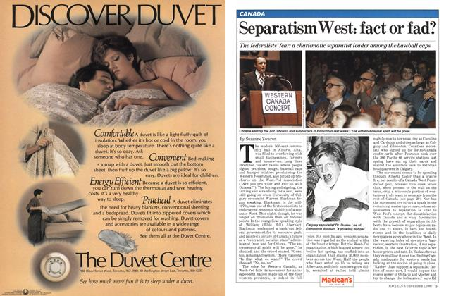 Separatism West: fact or fad?