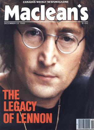DECEMBER 22, 1980 | Maclean's