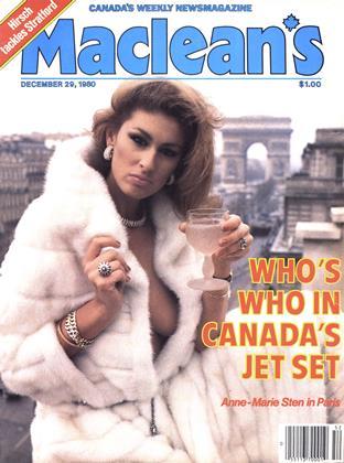 DECEMBER 29, 1980 | Maclean's