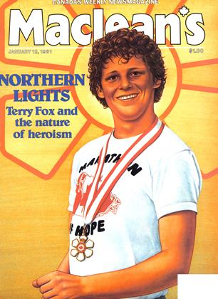 Cover for the January 12 1981 issue