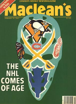 Cover for the January 19 1981 issue