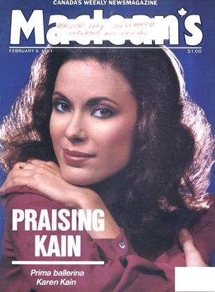 Cover for the February 9 1981 issue